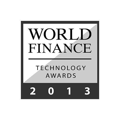 World Finance  : Technology Awards 2013