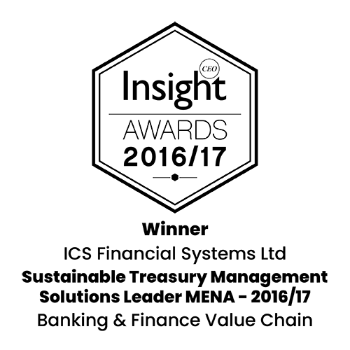 Insight CEO Awards  : Sustainable Treasury Management Solutions Leader MENA - 2016/17