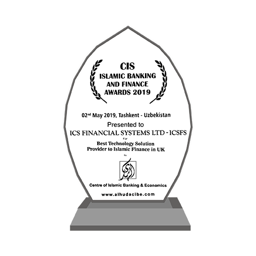 CIS Islamic Banking and Finance Awards  : Best Technology Solution Provider to Islamic Finance in The UK 2019
